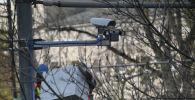 Установка камер видеонаблюдения
