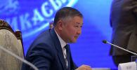 """""""Кыргызстан"""" фракциясынын лидери Канат Исаев. Архив"""