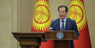 Назначенный послом Кыргызстана в США  Бактыбек Аманбаев. Архивное фото