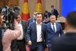 Премьер-министр Кыргызской Республики Садыр Жапаров, Председатель ГКНБ Камчыбек Ташиев и Спикер Канат Исаев. Архивное фото