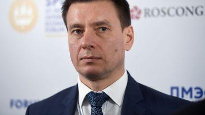 Член коллегии (министр) по торговле Евразийской экономической комиссии Андрей Слепнев. Архивное фото