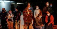 Измир шаарынын тургундары түнкүсүн көчөдө калышты