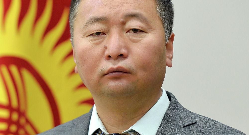 Заведующий отделом информационной политики Аппарата Президента Кыргызской Республики Нургазы Анаркулов