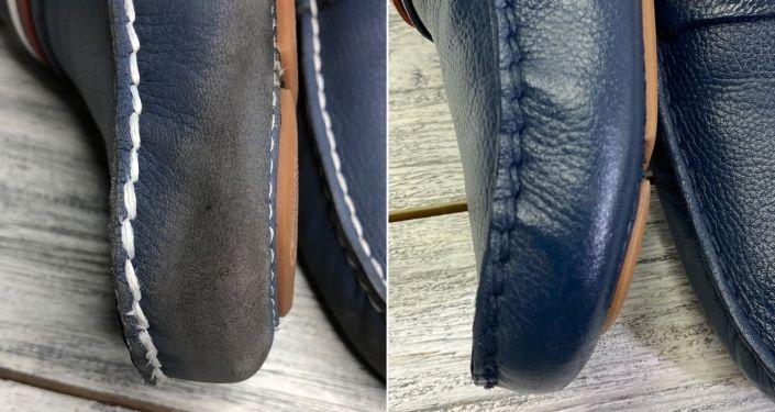 Примеры работ мастерской по ремонту обуви Хабибулло Азизулло уулу