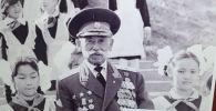 Генерал-майор милиции, заслуженный работник МВД Эргеш Алиев. Архивное фото