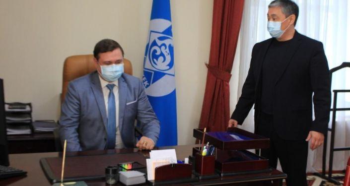 Новым акимом Октябрьского района Бишкека стал Константин Куценко.
