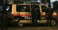 Вена шаарында теракт болгон жердеги полиция кызматкерлери