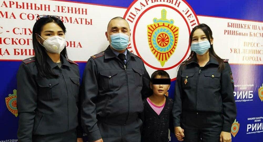 В Бишкеке нашлась восьмилетняя Аяна Эмилбекова