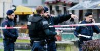 Венадагы окуя болгон жерде куралдуу полиция кызматкерлери