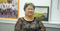 Кыргызстан кол өнөрчүлөр кеңешинин төрайымы Жамбы Карыбекова
