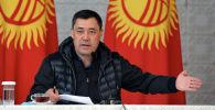 И.о. президента КР, Премьер-министр Садыр Жапаров