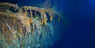Затонувший в 1912 году Титаник. Архивное фото