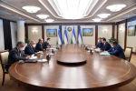 Премьер-министр Республики Узбекистан Абдулла Арипов принял министра иностранных дел Кыргызской Республики Руслана Казакбаева в Ташкенте. 5 ноября 2020 года