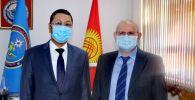 Встреча министра Чрезвычайный ситуаций КР с послами России и Японии