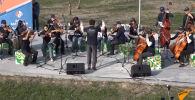 Фестиваль Tengri Music проводят уже шестой раз. По традиции на сцене под открытым небом собираются известные музыкальные коллективы.