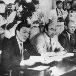 Тогдашние лидеры Кыргызстана: Насирдин Исанов, Аскар Акаев и Медеткан Шеримкулов