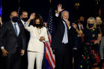 АКШ президентигине талапкер Джо Байден жана вице-президенттикке ат салышкан биринчи кара терилүү аял Камала Харрис