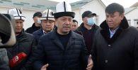 Премьер-министр Садыр Жапаров Нарын облусуна жумушчу сапар учурунда