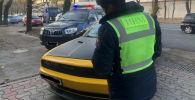 Патрульная милиция Бишкека оштрафовала водителя американского спорткара Dodge Challenger. 09 ноября 2020 года