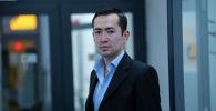Руководитель проектов общественного объединения и гражданской позиции Адилет Уланов в офисе Sputnik Кыргызстан