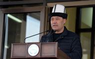 Президент КР Садыр Жапаров. Архивное фото