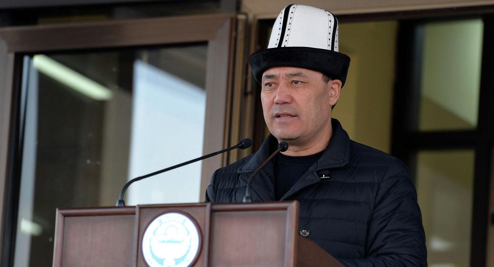 Исполняющий обязанности Президента Кыргызской Республики, премьер-министр Садыр Жапаров. Архивное фото