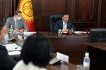 Исполняющий обязанности президента, премьер-министр Кыргызской Республики Садыр Жапаров принял участие на очередном заседании Совета глав правительств стран Содружества Независимых Государств в формате видеоконференции