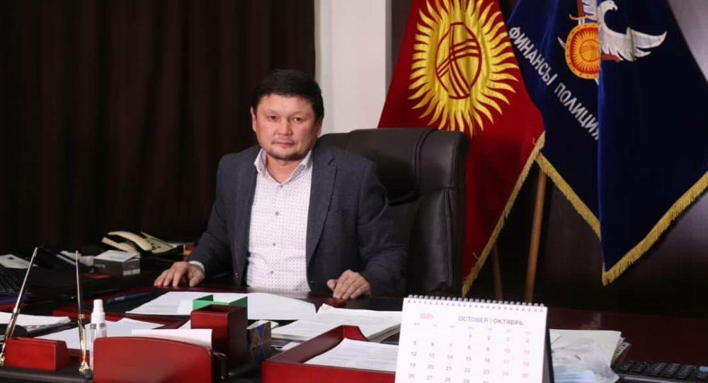 Глава Государственной службы по борьбе с экономическими преступлениями (ГСБЭП, Финпол) Сыймык Жапыкеев
