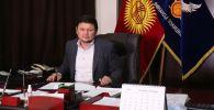 Экономикалык кылмыштарга каршы күрөшүү кызматынын жетекчиси Сыймык Жапыкеев
