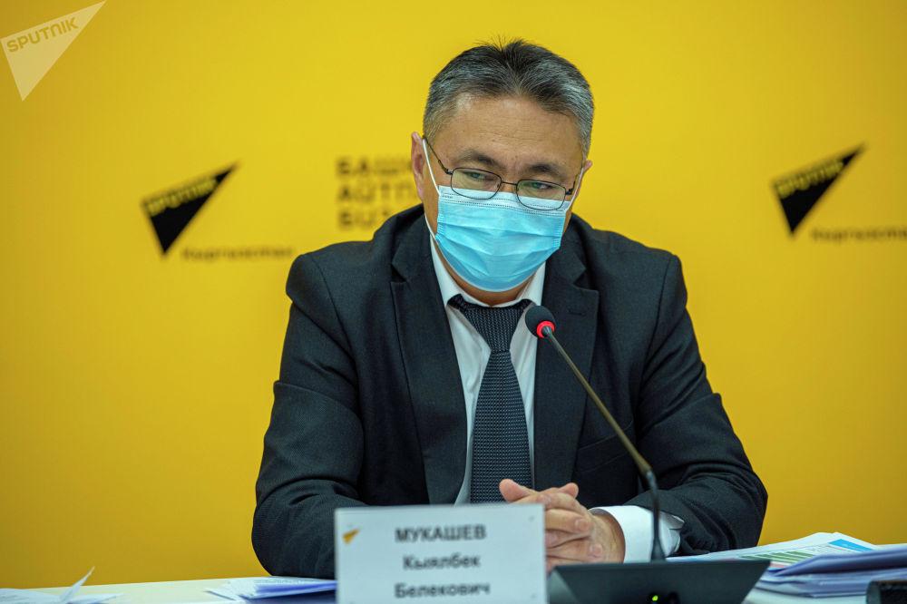 Глава Минфина Кыялбек Мукашев