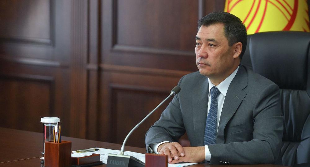 Кандидат в президенты Садыр Жапаров. Архивное фото