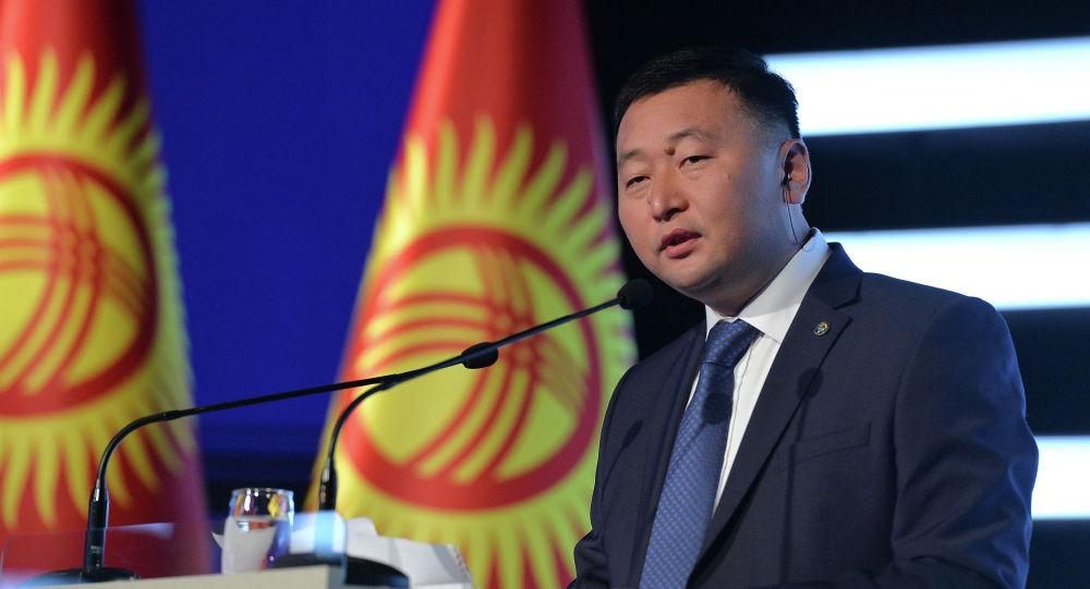 Руководитель пресс-службы президента Нургазы Анаркулов. Архивное фото
