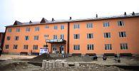 Ош шаарындагы Ломоносов атындагы №3 мектептин 500 орундуу кошумча окуу корпусунун курулуш иштери