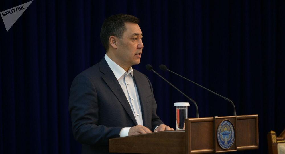 Кандидат в президенты Кыргызстана Садыр Жапаров