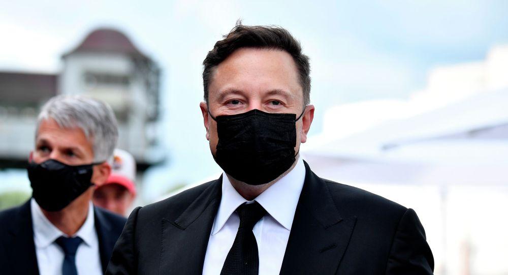 SpaceX компаниясынын башчысы Илон Маск. Архив