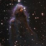 Бул Хаббл телескобу менен тартылган Кассиопея топ жылдызындагы J025157.5 + 600606 объектинин сүрөтү