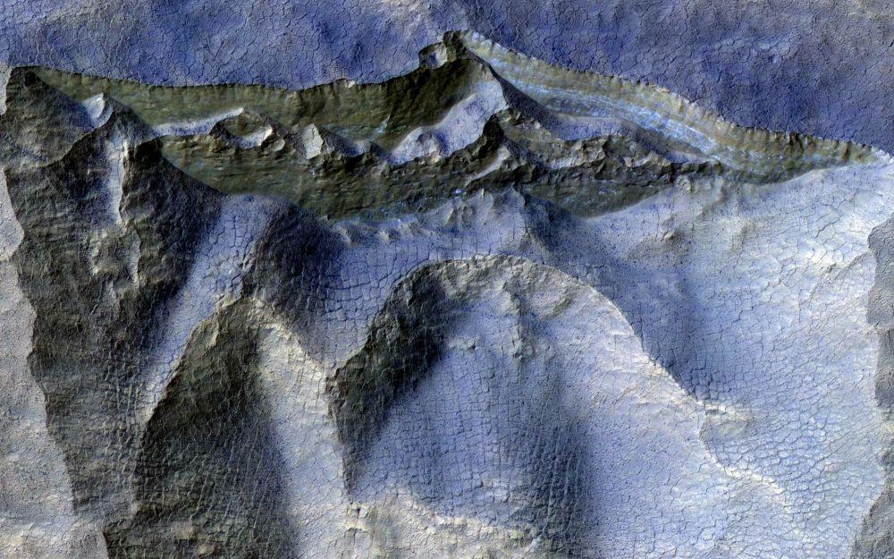 Марс планетасынын үстүңкү катмары