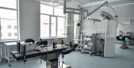 Бишкекте Эне жана баланы коргоо улуттук борборунда жаңы эки имарат ачылды. Алар — клинико-диагностикалык блок жана органдарды трансплантациялоочу гематология бөлүмү