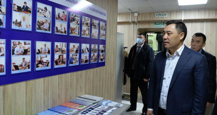 Исполняющий обязанности президента Садыр Жапаров сдал экзамен на знание кыргызского языка