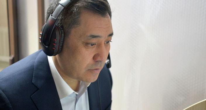 Отмечается, что он успешно сдал экзамен в здании госпредприятия Кыргызтест