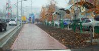 В Оше завершился ремонт улицы Рыспая Абдыкадырова и прилегающей территории без привлечения грантов