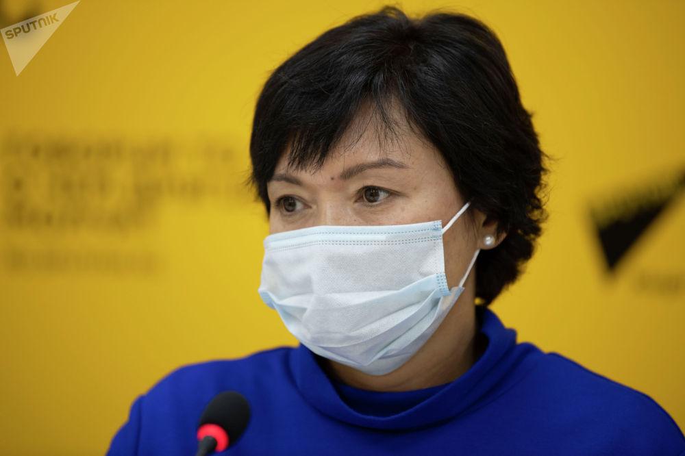 Уполномоченный по вопросам предупреждения коррупции Министерства здравоохранения КР Индира Джумабаева