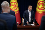 Исполняющий обязанности президента Кыргызстна Садыр Жапаров. Архивное фото