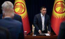 Избранный президент Кыргызстна Садыр Жапаров. Архивное фото