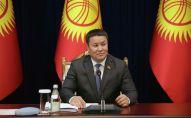 Исполняющий обязанности президента КР, спикер Жогорку Кенеша Талант Мамытов. Архивное фото
