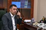 Президент Кыргызской Республики Садыр Жапаров. Архивное фото