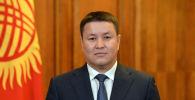 Новый исполняющий обязанности президента Кыргызстана, торага Жогорку Кенеша Талант Мамытов. Архивное фото