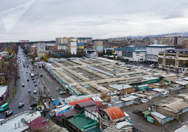Орто-Сайский рынок в Бишкеке. Архивное фото
