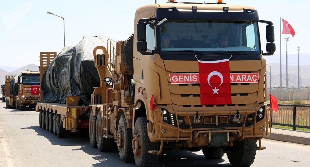Турецкие военные, прибывшие на учения в Азербайджан. Архивное фото