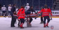 В матче чемпионата Словакии по хоккею произошла драка, в результате которой пострадавший пришел в сознание только в больнице.
